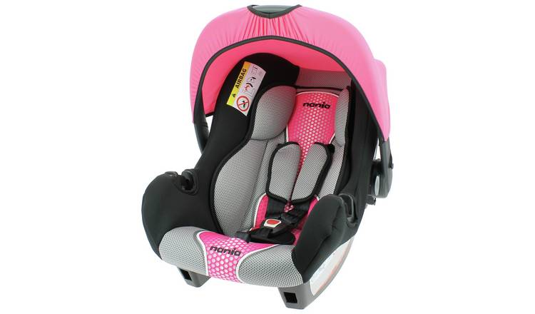 Team Tex Beone First Pop Group 0+ Baby Car Seat - Pink