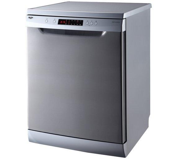buy bush dwfsg146ss full size dishwasher stainless steel