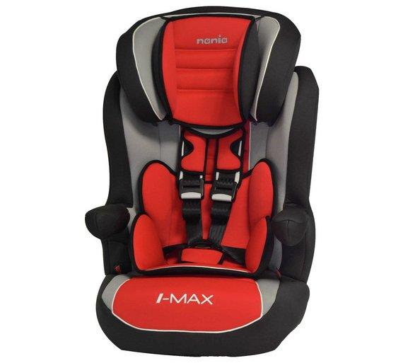 Buy TT Nania Imax SP Luxe Group 1-2-3 Car Seat - Agora Carmin | Car