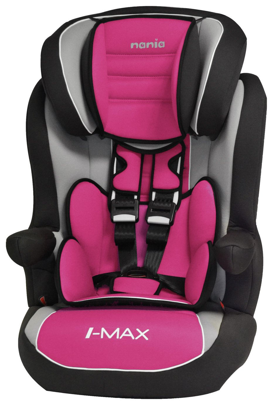 Team Tex IMax Group 1-2-3 High Back Booster Seat - Framboise