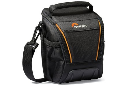 Cut out image of a Lowepro Adventura SH100 LL Compact System Camera Bag.