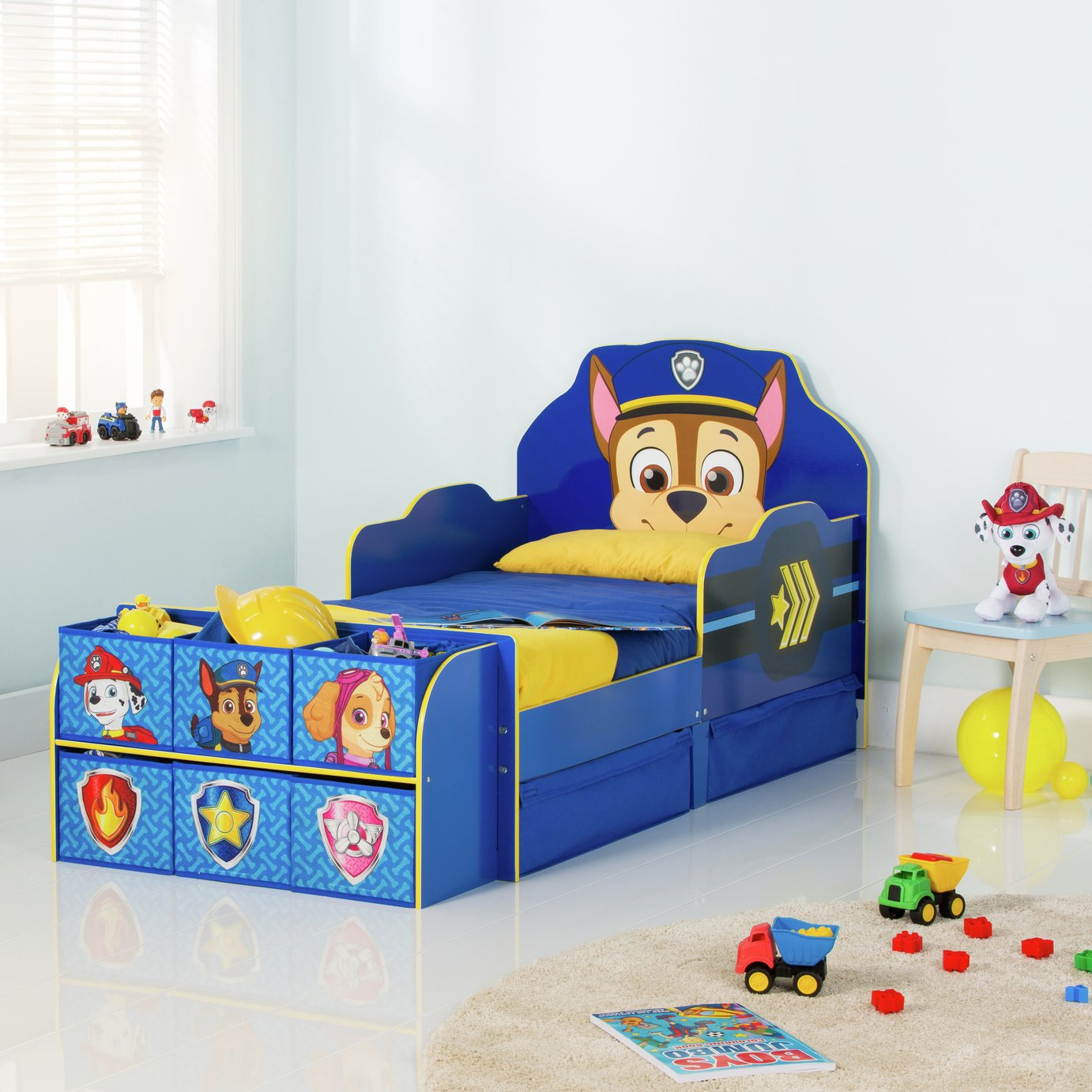 Paw Patrol Cube Toddler Bed Frame