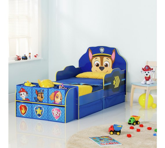 Buy Paw Patrol Cube Toddler Bed Frame - Blue at Argos.co.uk - Your ...
