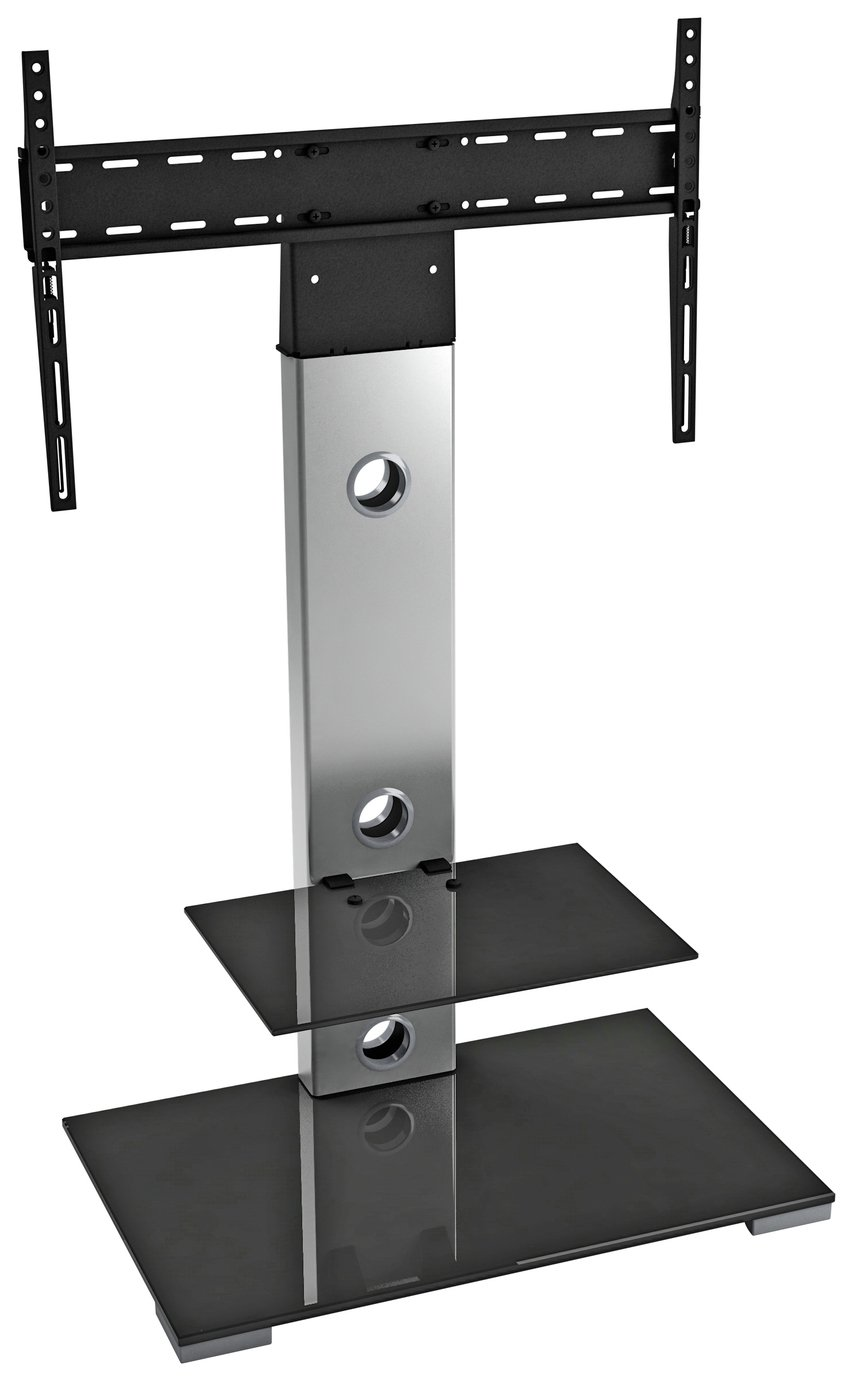 avf up to 65 inch combined tv stand silver