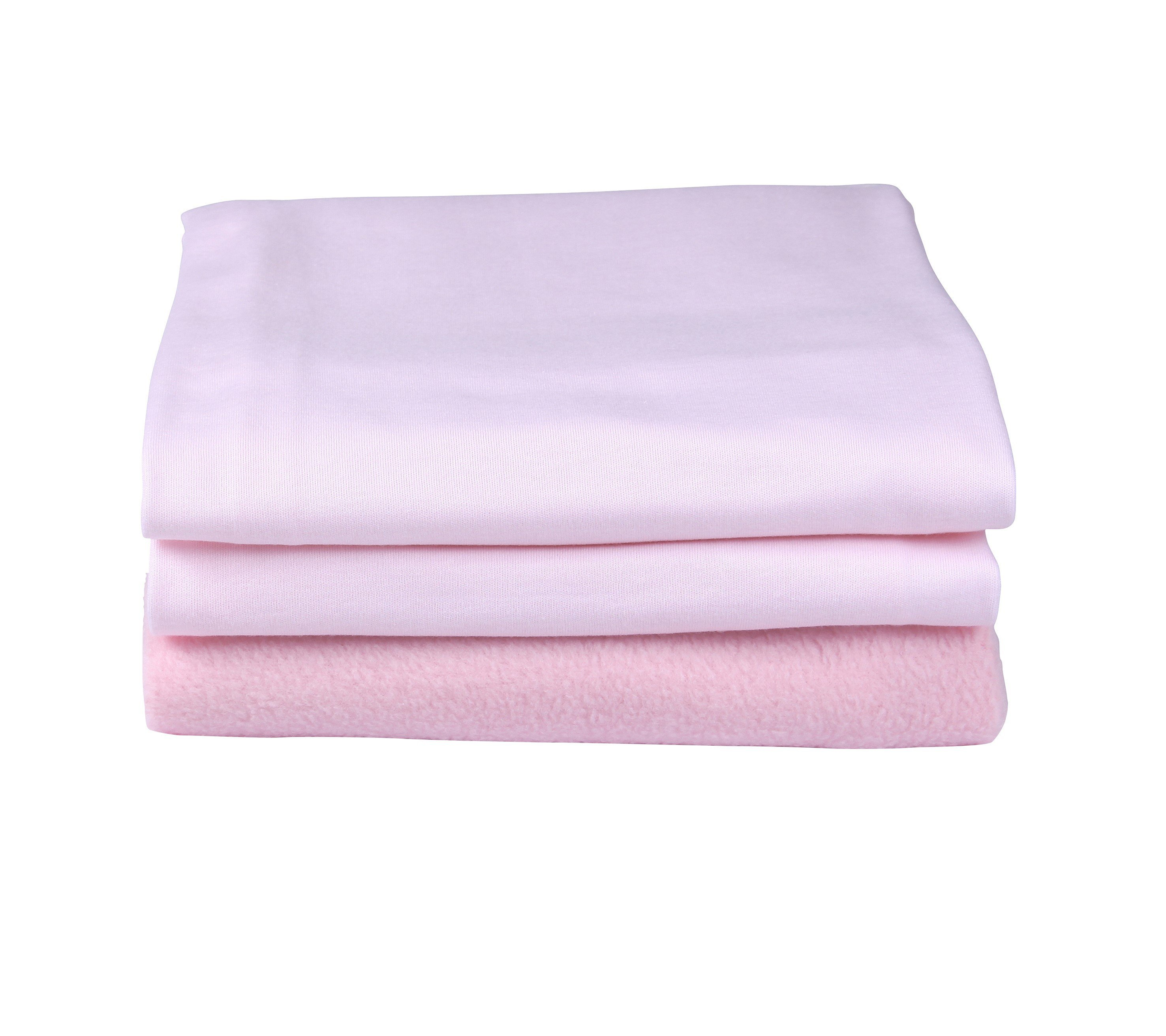 clair de lune cot and cot bed bedding bale  pink.