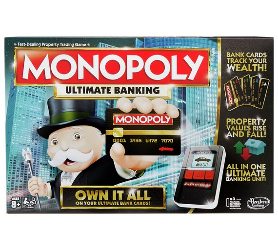 Buy Monopoly Ultimate Banking From Hasbro Gaming Board Games Argos