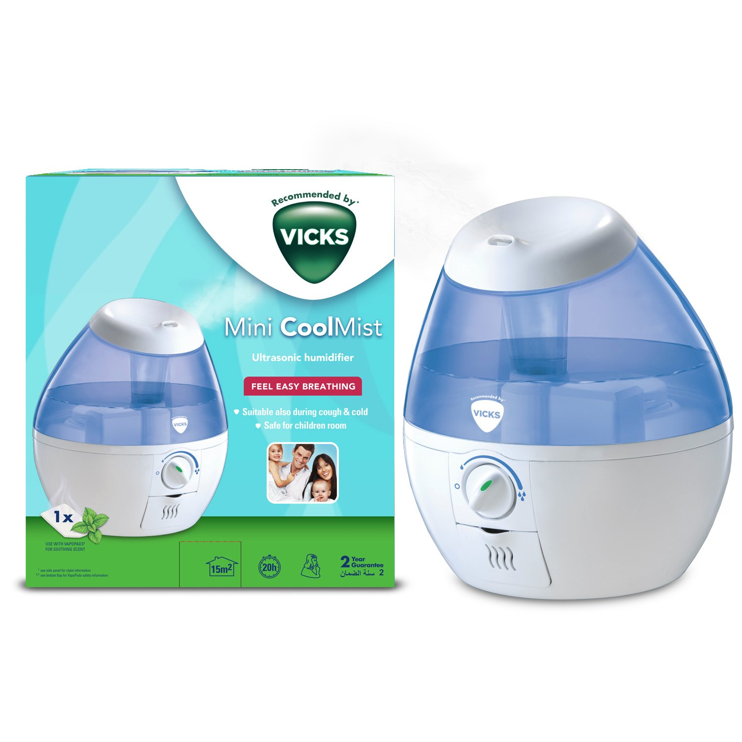 vicks humidifier cleaning instructions v750