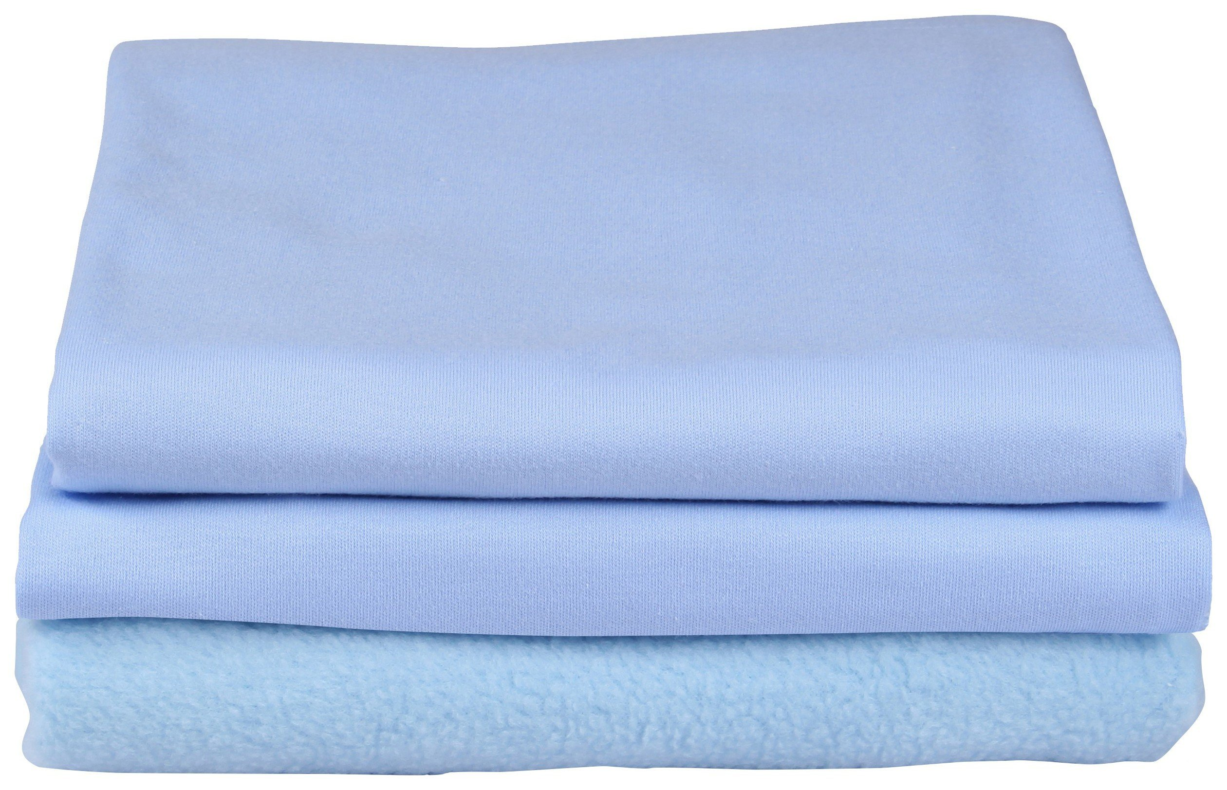 clair de lune cot and cot bed bedding bale  blue