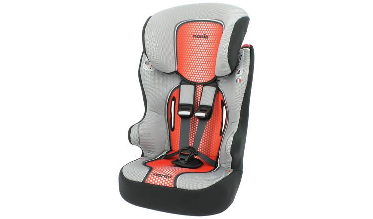 Racer First Pop Group 1/2/3 Highback Booster Seat - Red