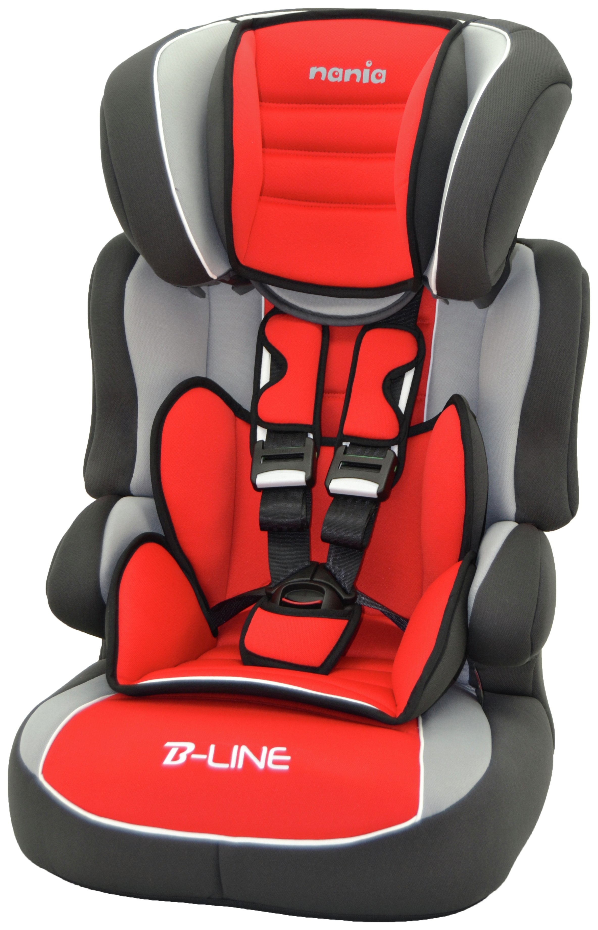 Beline SP Luxe Group 1/2/3 Highback Booster - Red