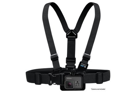 Cut out image of the GoPro Chesty chest harness.