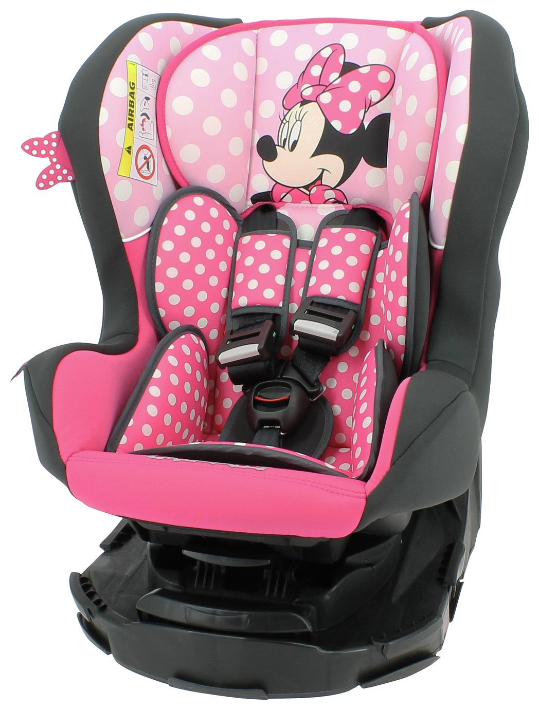 Team Tex Disney Minnie Mouse Groups 0-1 Car Seat