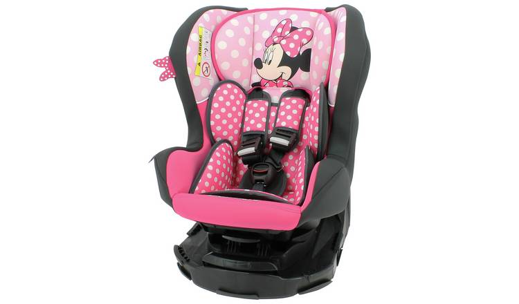 Buy Team Tex Disney Minnie Mouse Group 0 1 Car Seat Pink Car Seats Argos