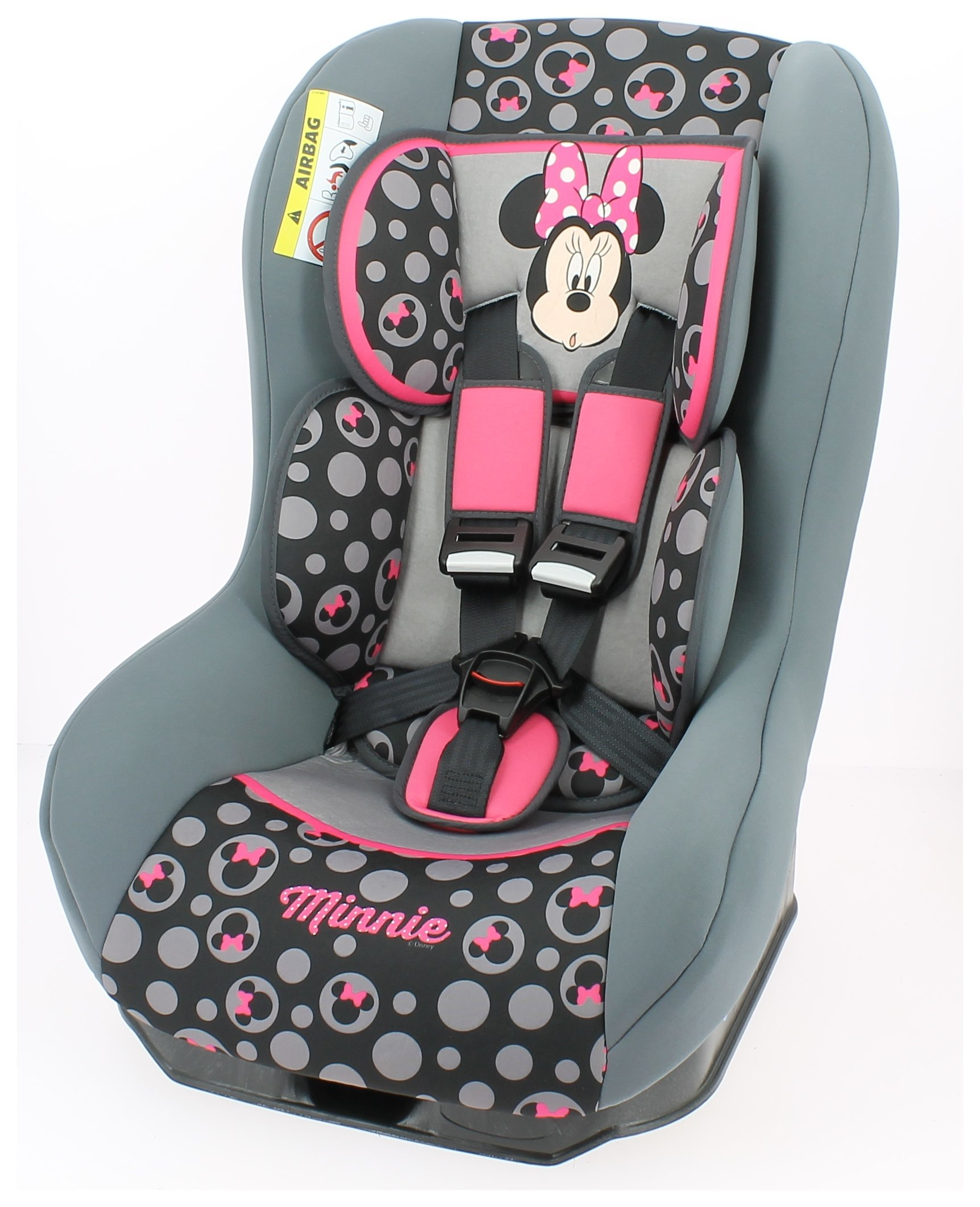 Disney Minnie Driver Group 0/1 Car Seat - Pink