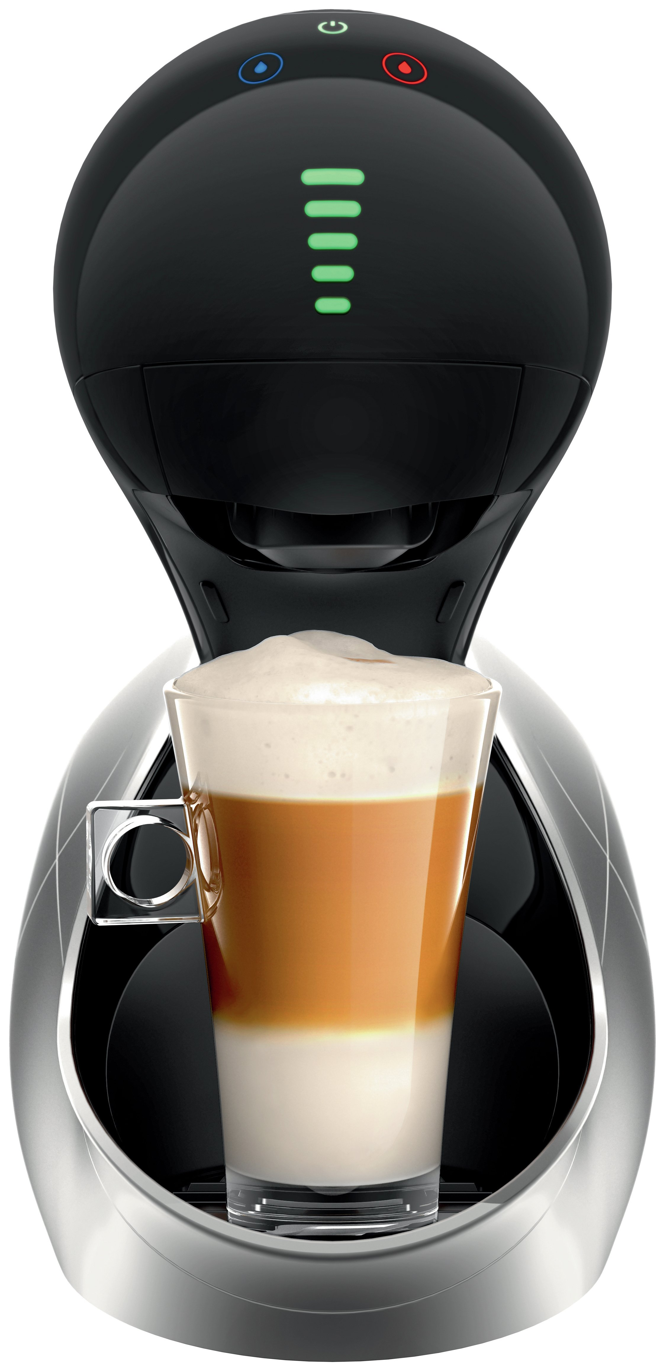 nescaf dolce gusto movenza automatic by krups silver. Black Bedroom Furniture Sets. Home Design Ideas