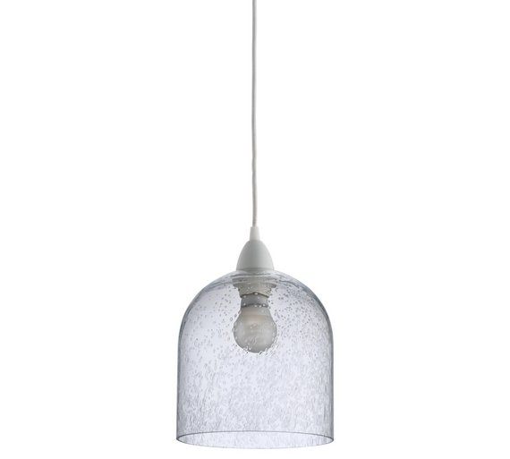 Buy Habitat Liv Bubble Glass Pendant Light Shade At Argos