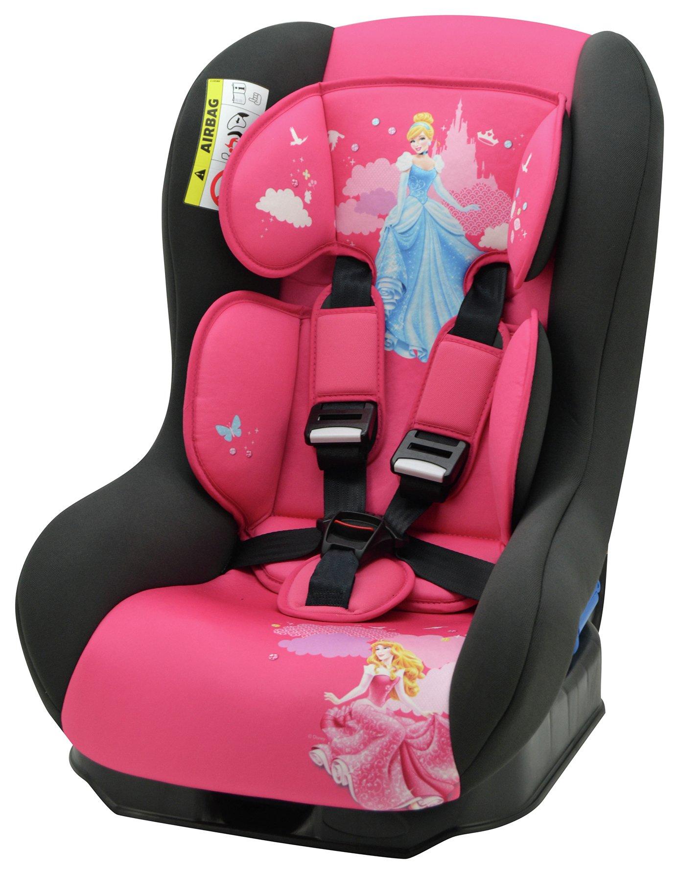 Disney Princess Driver Group 0/1 Car Seat - Pink