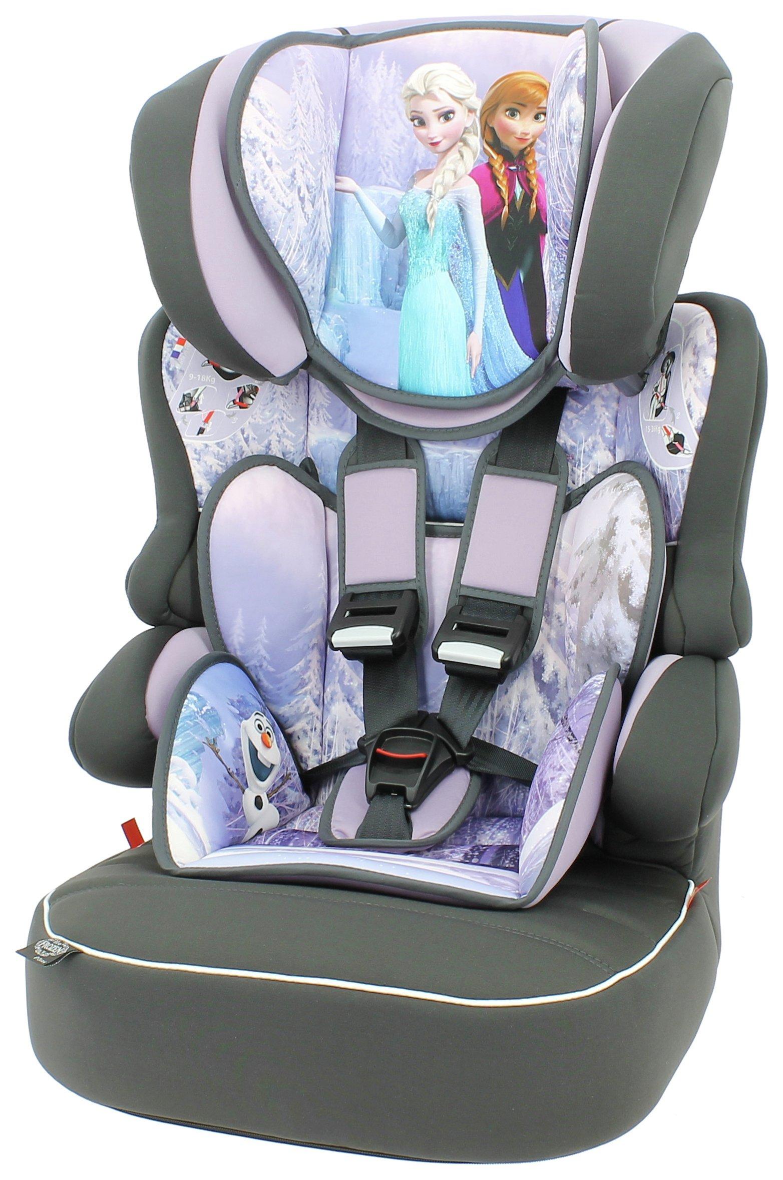 Disney Frozen Beline Group 1/2/3 High Back Booster Seat