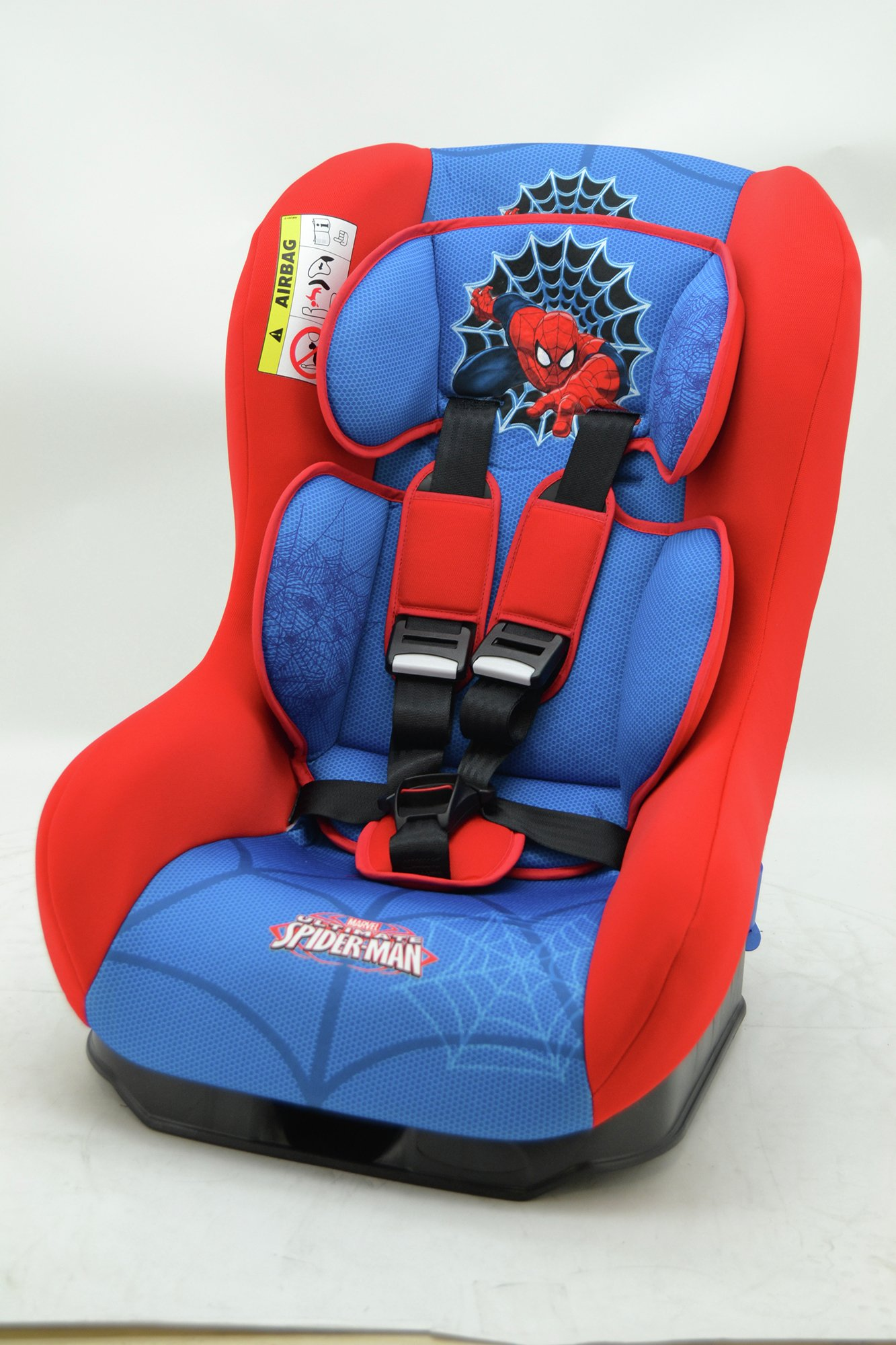 Marvel Spriderman Group 1 Driver Car Seat - Blue