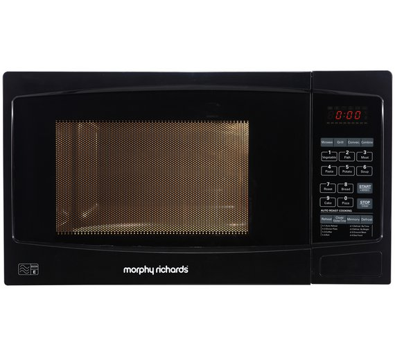 Morphy Richards Oven: Morphy Richards ES823ENN Combi Microwave Small Size Fool