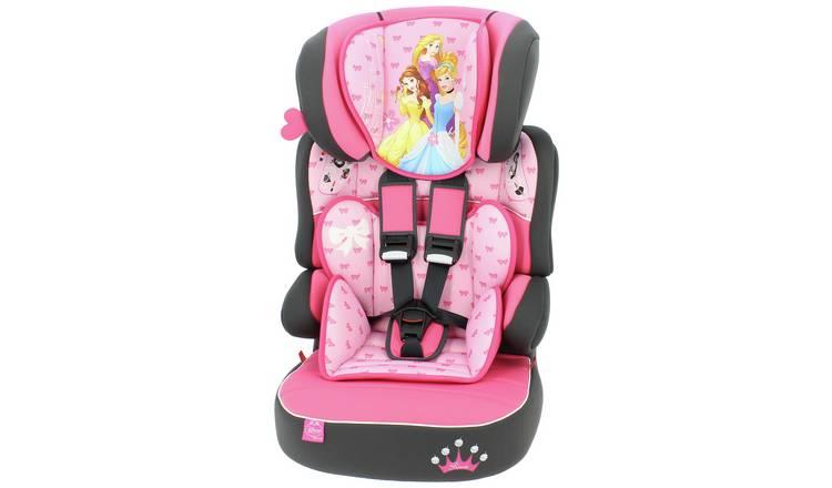 f4c3cd81ea5e Buy TT Disney Princess Beline Group 1 2 3 High Back Booster Seat ...