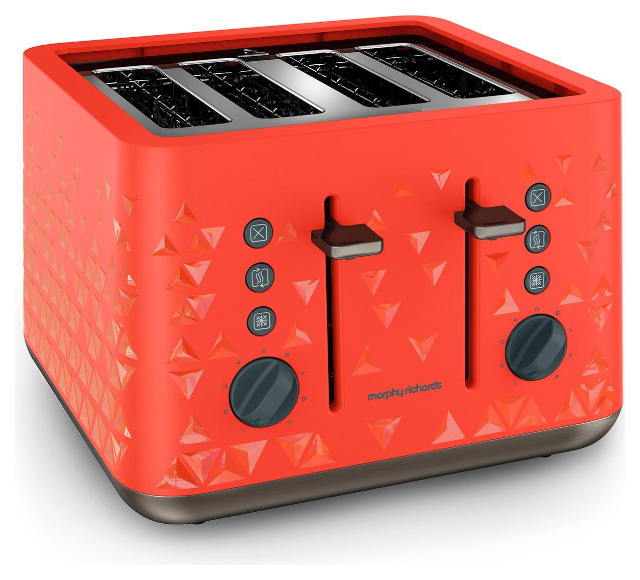 Morphy Richards Prism Toaster - Orange.
