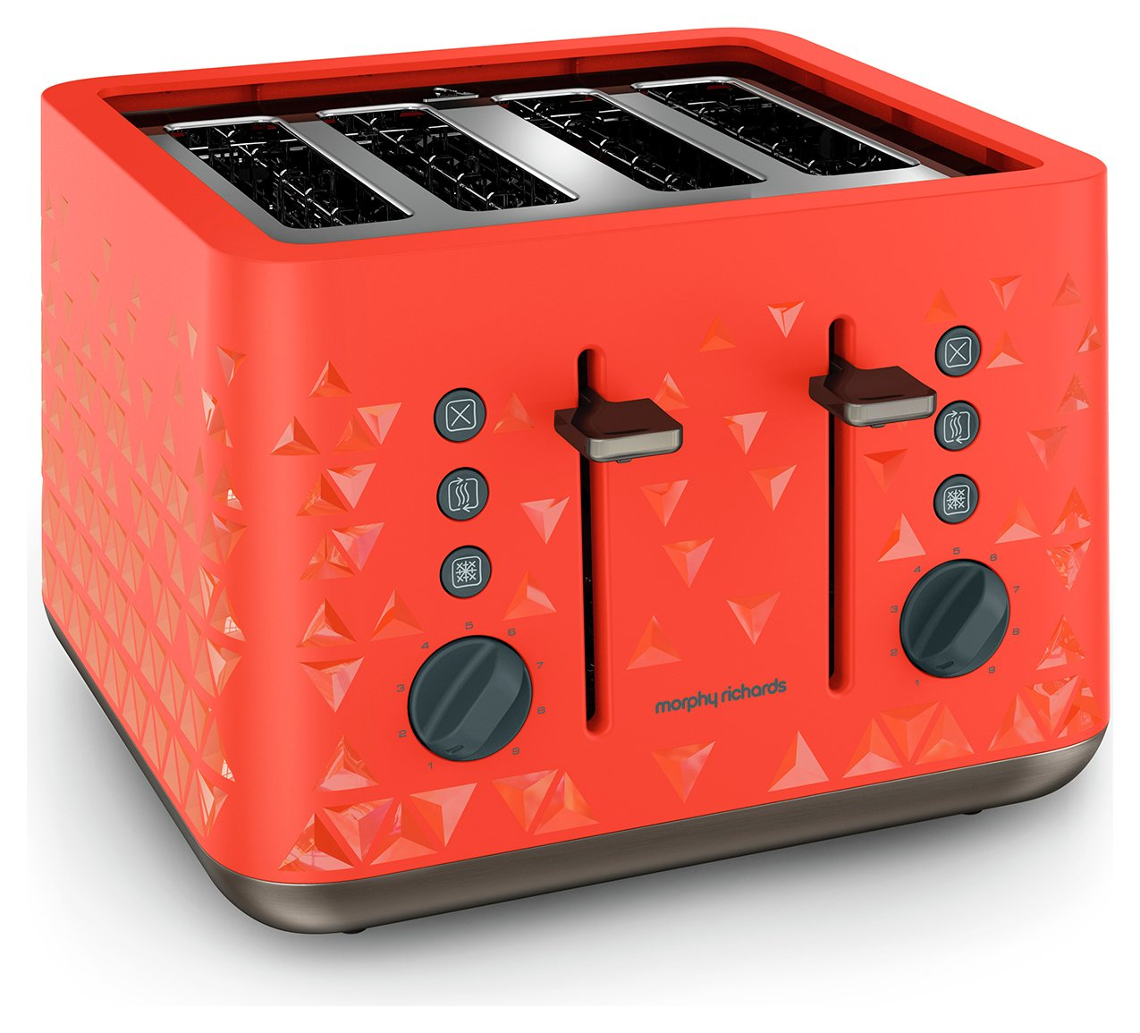 Morphy Richards - Toaster - Prism Toaster - -Orange