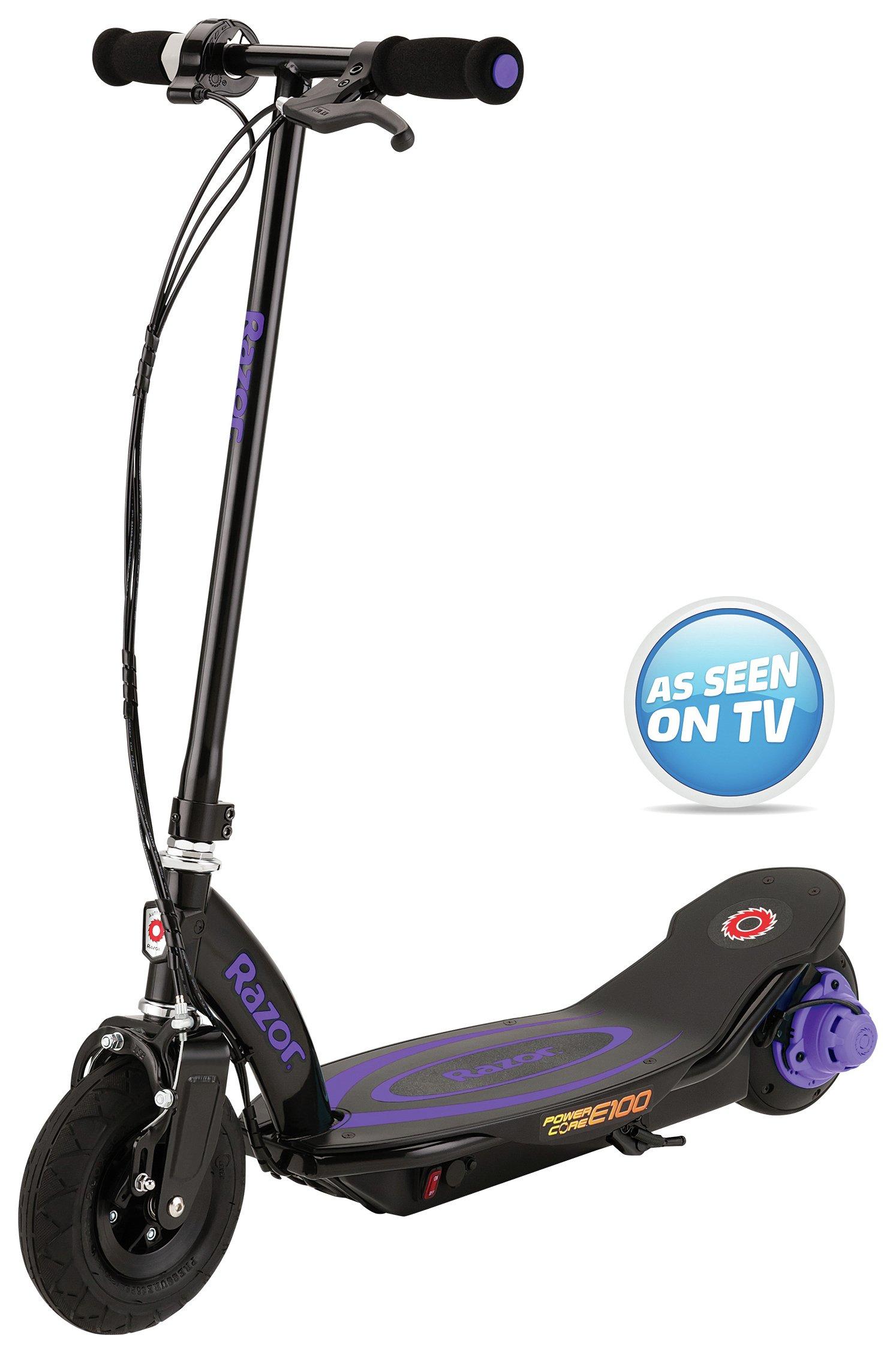 Razor - Power Core E100 Electric - Scooter - Purple