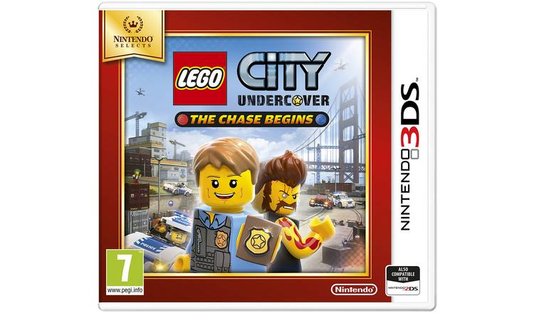 LEGO City Undercover: The Chase Begins Selects 3DS Game