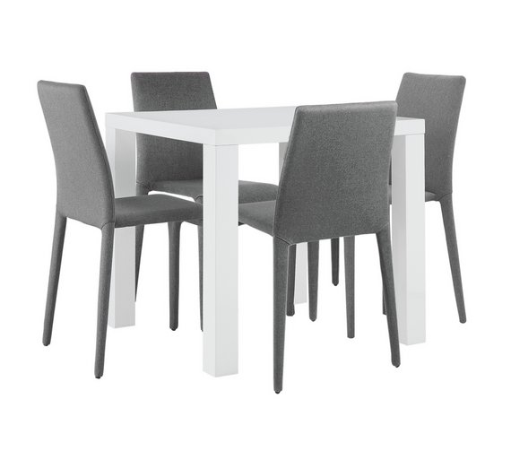Argos Hygena Dining Table And Chairs: Buy Hygena Lyssa Small Table And 4 Chairs