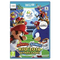 Mario and Sonic Rio 2016 Olympic Games - Wii U - Game