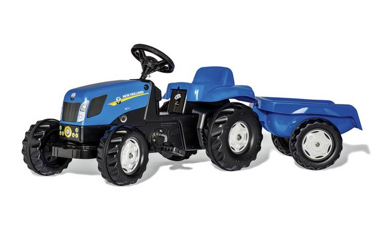 Rolly Kid New Holland T7040 Tractor and Trailer