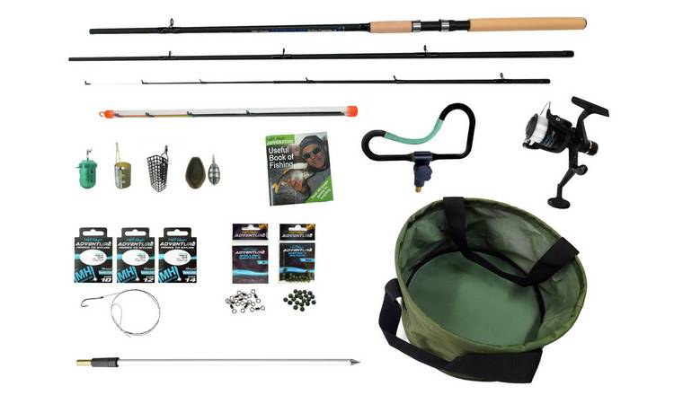 Matt Hayes Adventure Feeder 10ft Fishing Rod and Reel Set