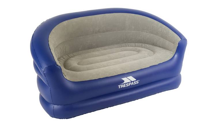 Trespass Flocked Double PVC Inflatable Sofa