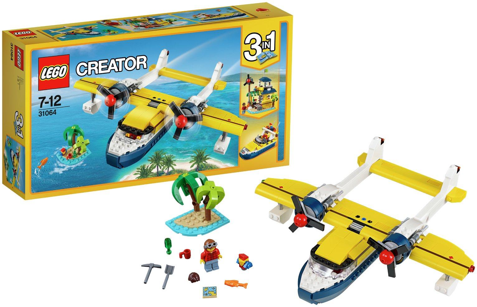Kleurplaten Lego Creator.5702015867887 Ean Lego Creator Wasserflugzeug Abenteuer 31064