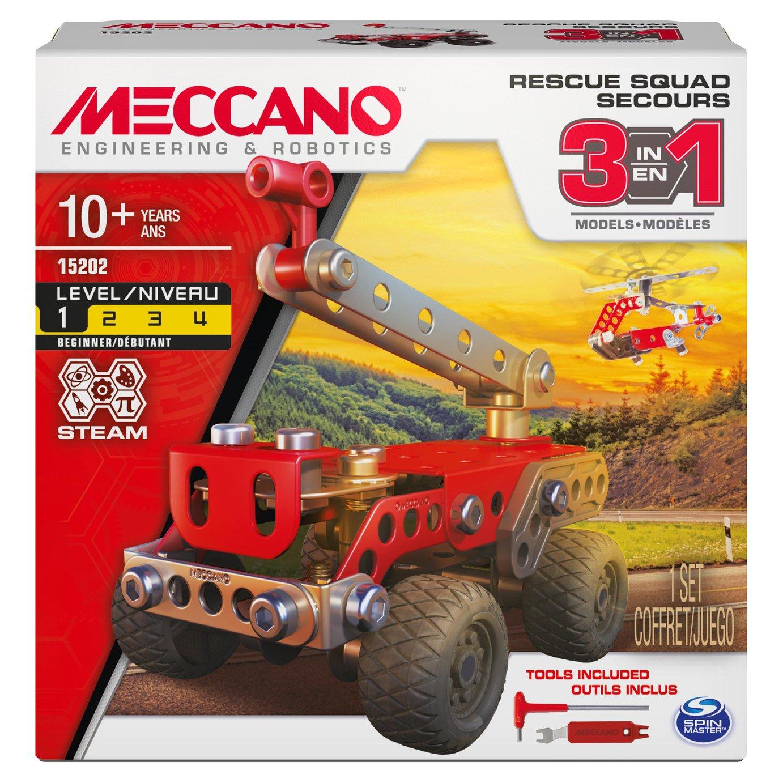 Meccano 3 Model Set