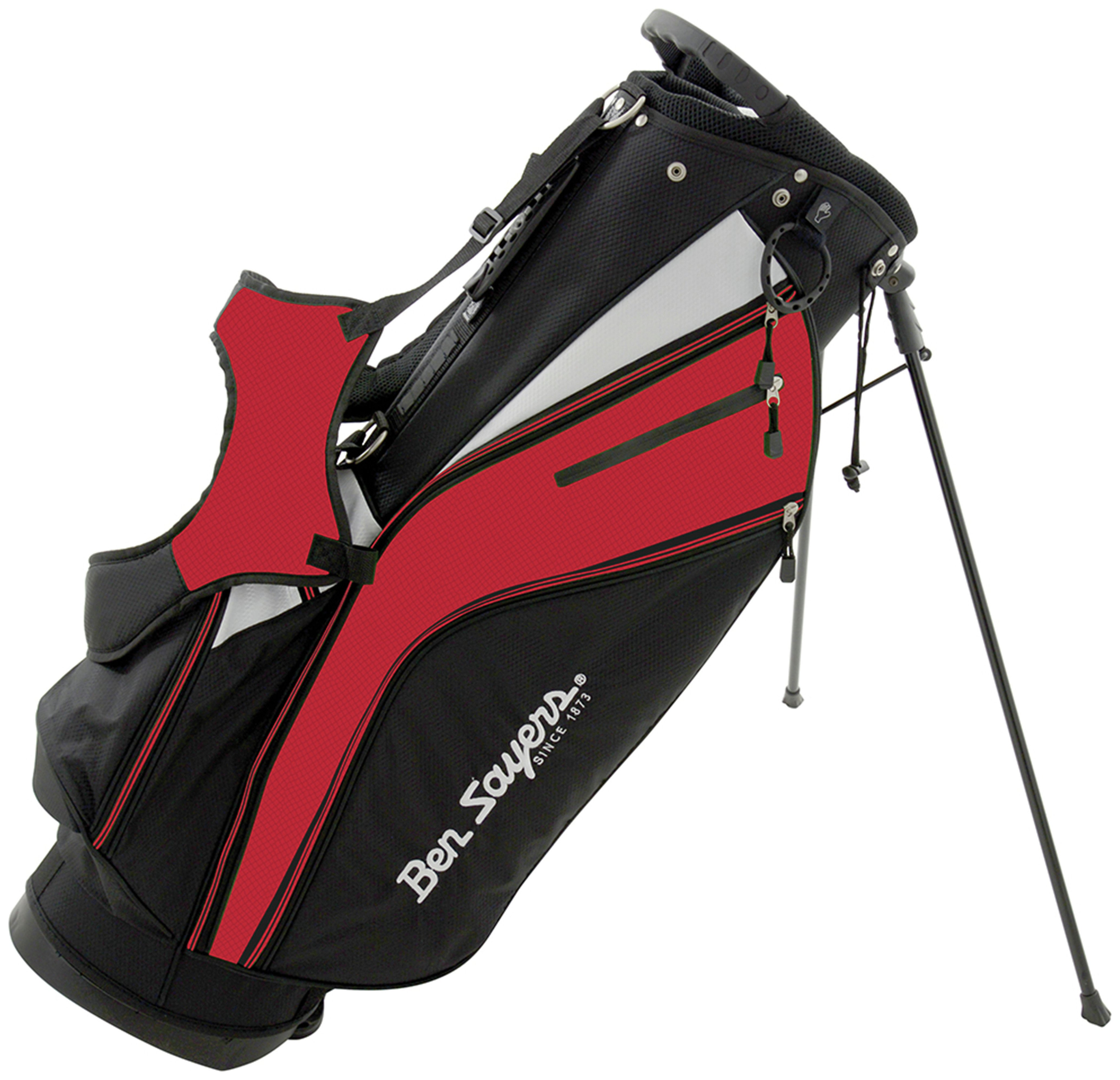 Image of Ben Sayers - X-Lite Stand Bag - Black/Red
