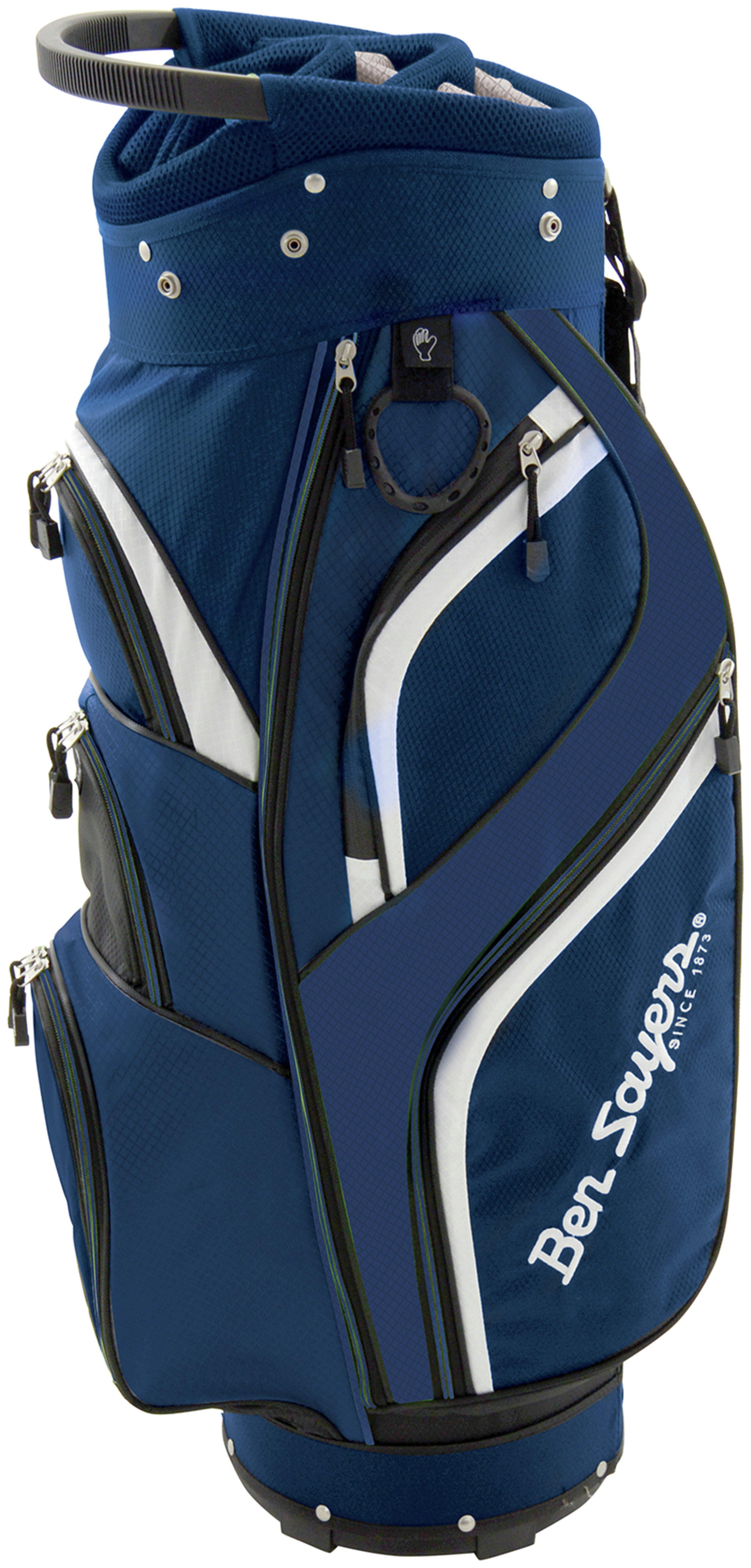 Ben Sayers 14 Way Deluxe Cart Bag - Blue