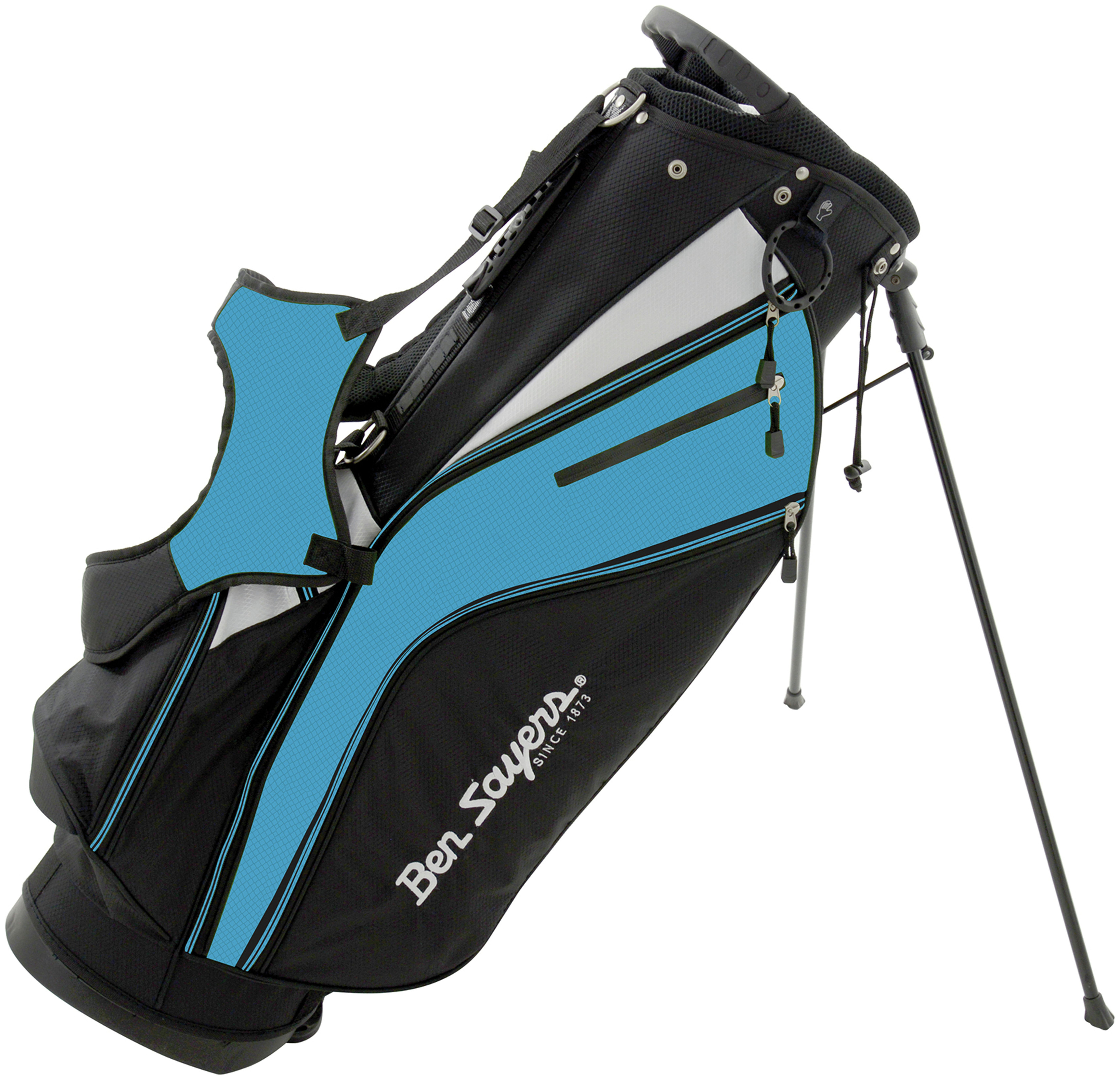 Image of Ben Sayers - X-Lite Stand Bag - Black/Blue