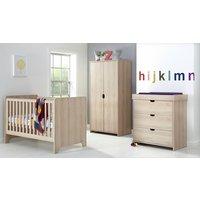 Mamas & Papas - Rocco - 3 Piece Furniture Set - Light Oak