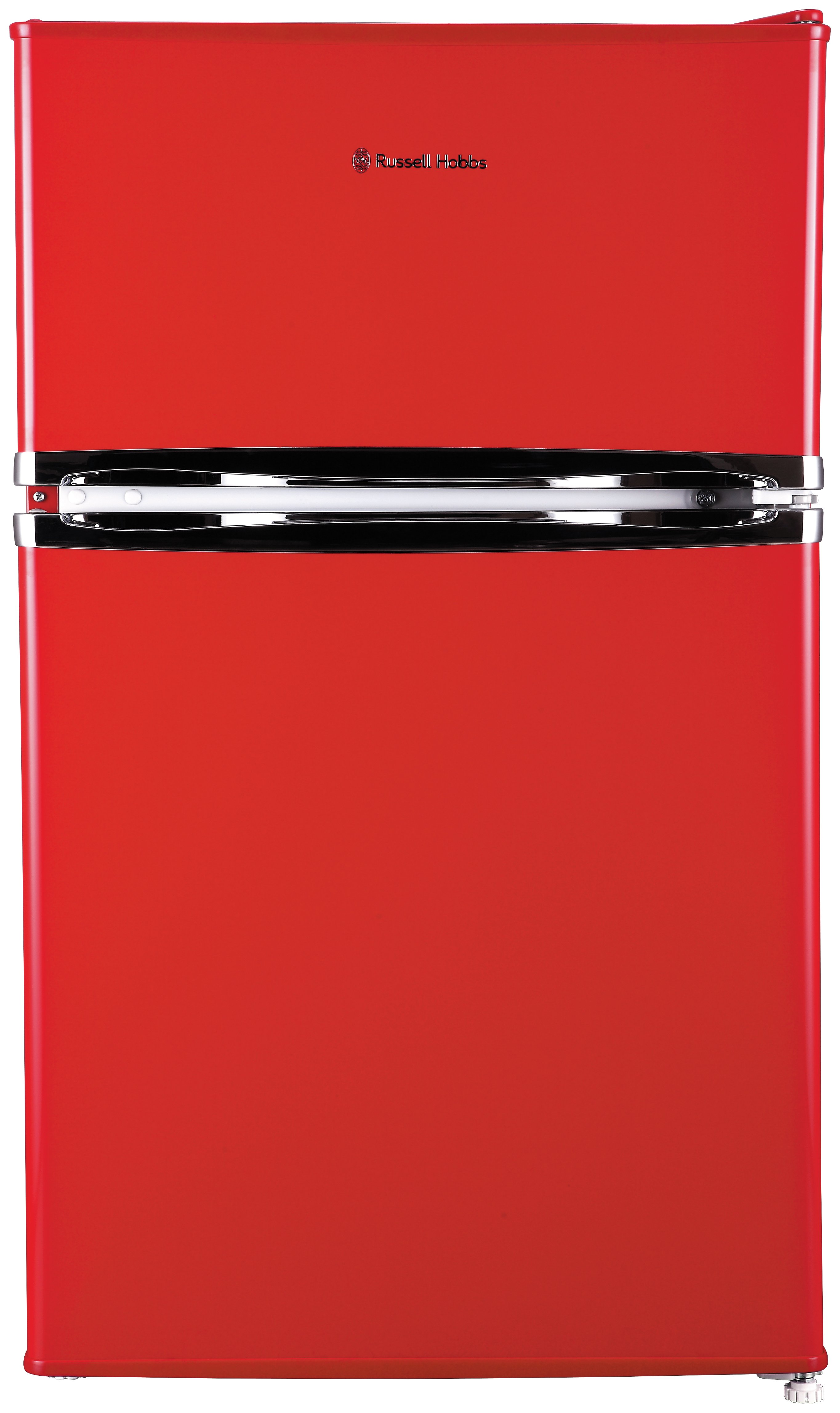 Russell Hobbs RHUCFF50R Under Counter Fridge Freezer - Red Best Price, Cheapest Prices