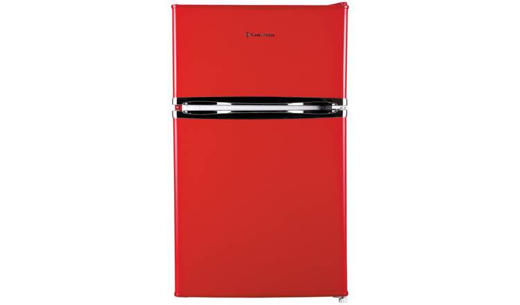 Russell Hobbs RHUCFF50R Under Counter Fridge Freezer - Red.