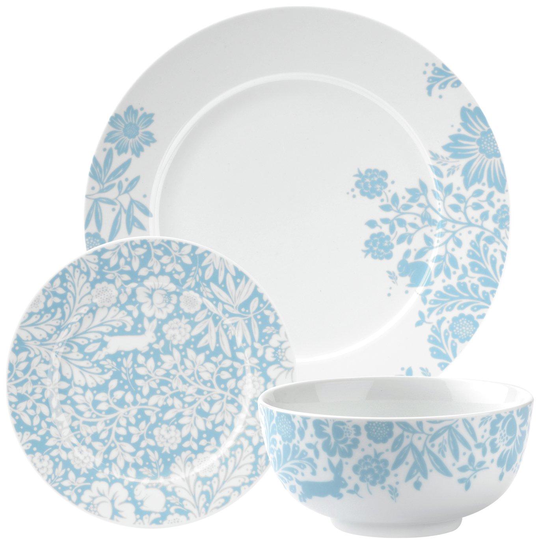 Portmeirion Studio Hide and Seek 12 Pc Porcelain Dinner Set