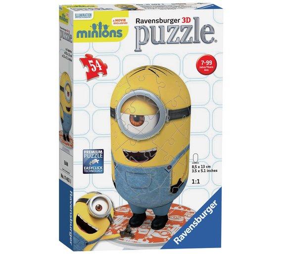 minion 3d puzzle