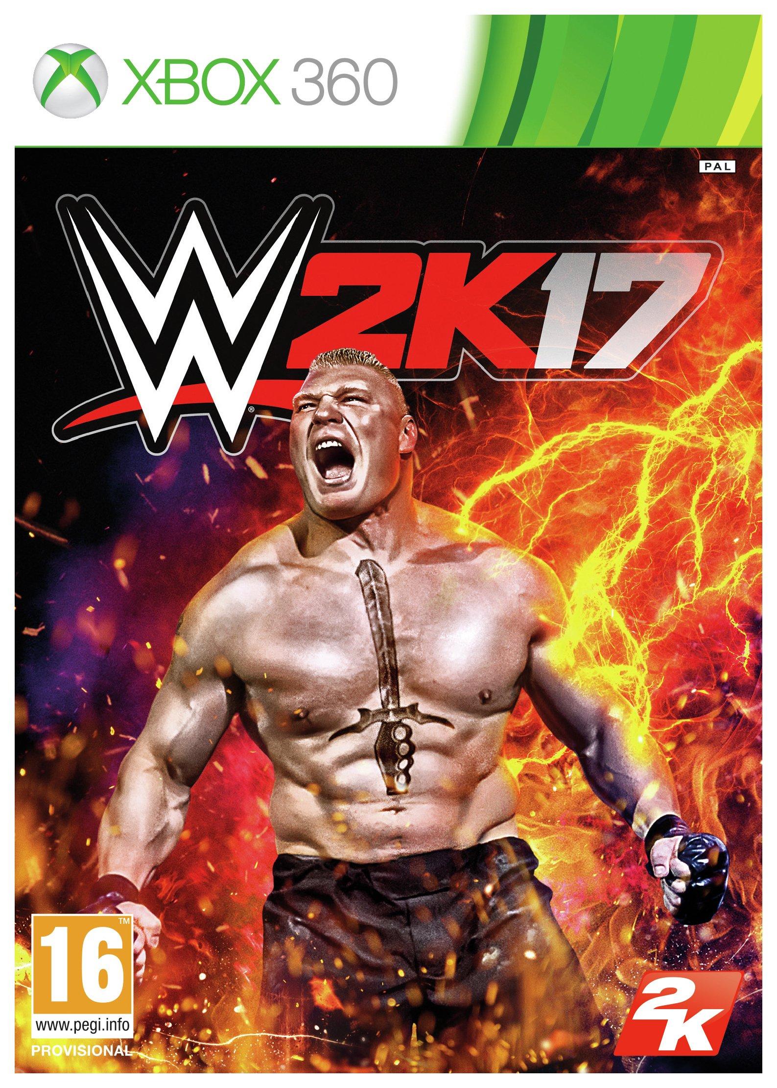 Image of WWE 2K17 - Xbox - 360 Game.