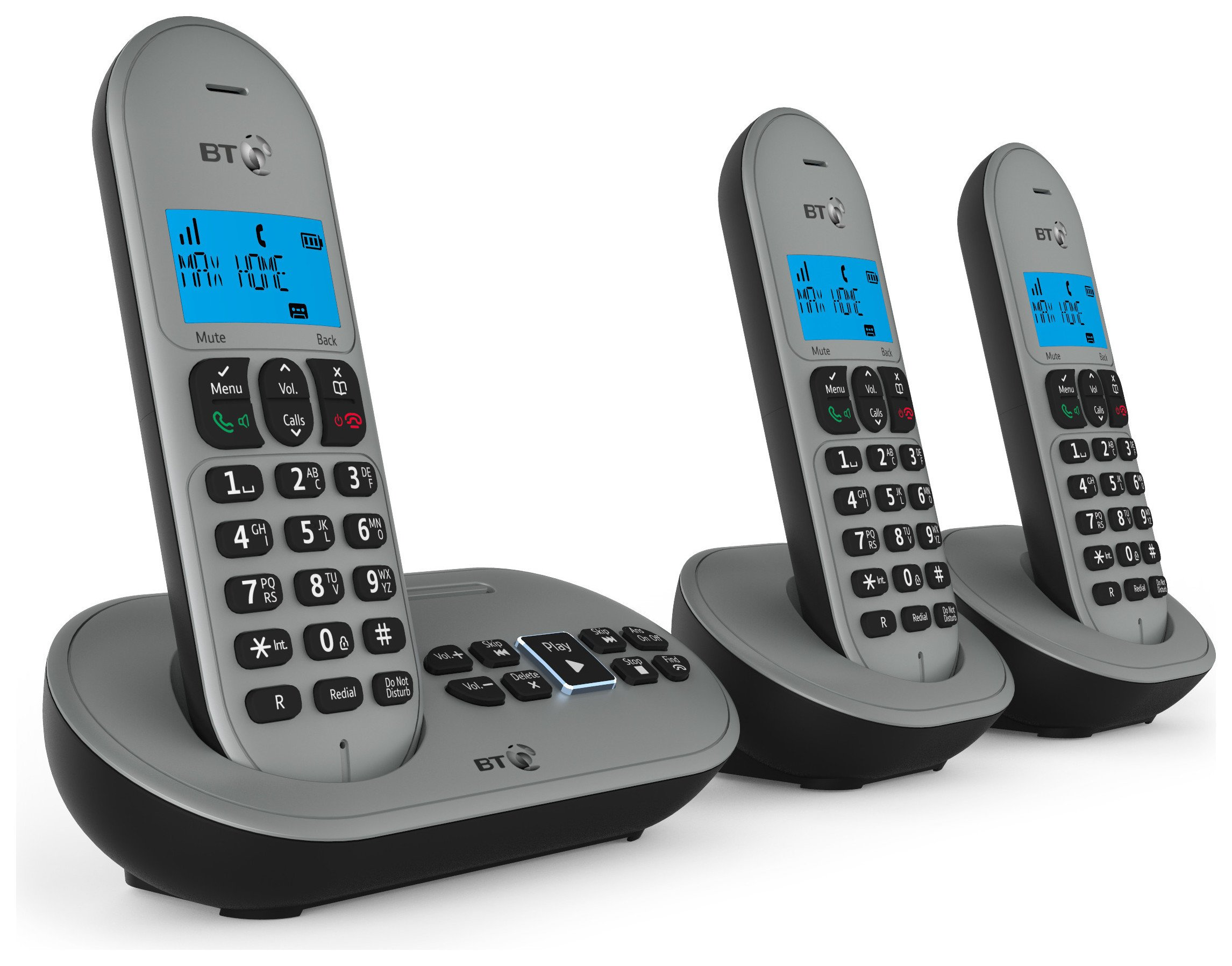 BT - 3580 - Cordless Telephone & Answer Machine - Triple