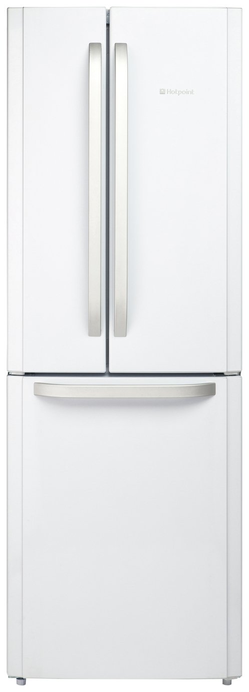 Hotpoint FFU3DW American Fridge Freezer - White Best Price, Cheapest Prices