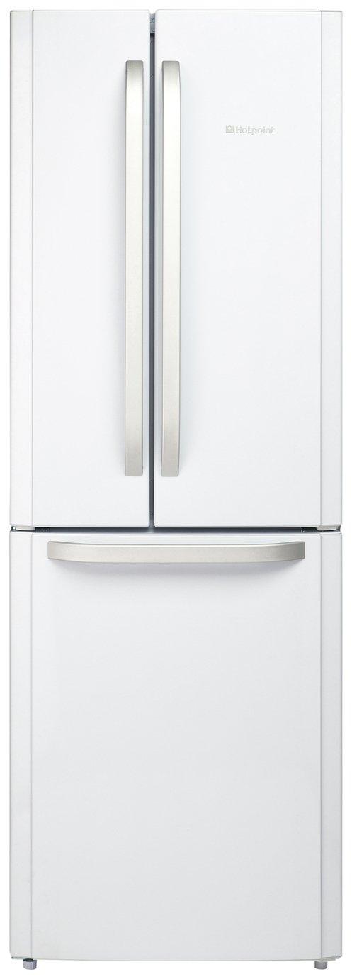 Hotpoint Ffu3dw Frost Free Fridge Freezer In White