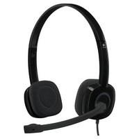 Logitech - H150 Stereo Headset - Black