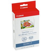 Canon Selphy KC-18IF Sticker Paper and Ink Kit